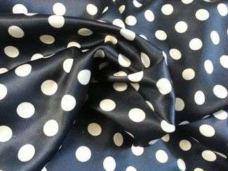 TISSUS A POIS POLYESTER 09