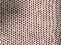 Tissu coton imprimé 28 rouge